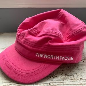 The North Face pink round hat